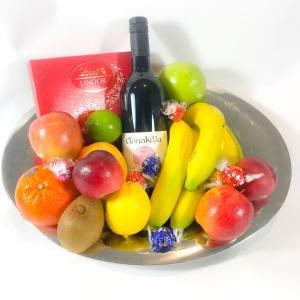 Fruit Wine and Chocolate Bowl