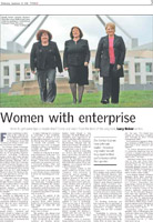 Canberra Times - Women with Enterprise