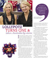 Canberra Weekly Lollypotz 1st Birthday
