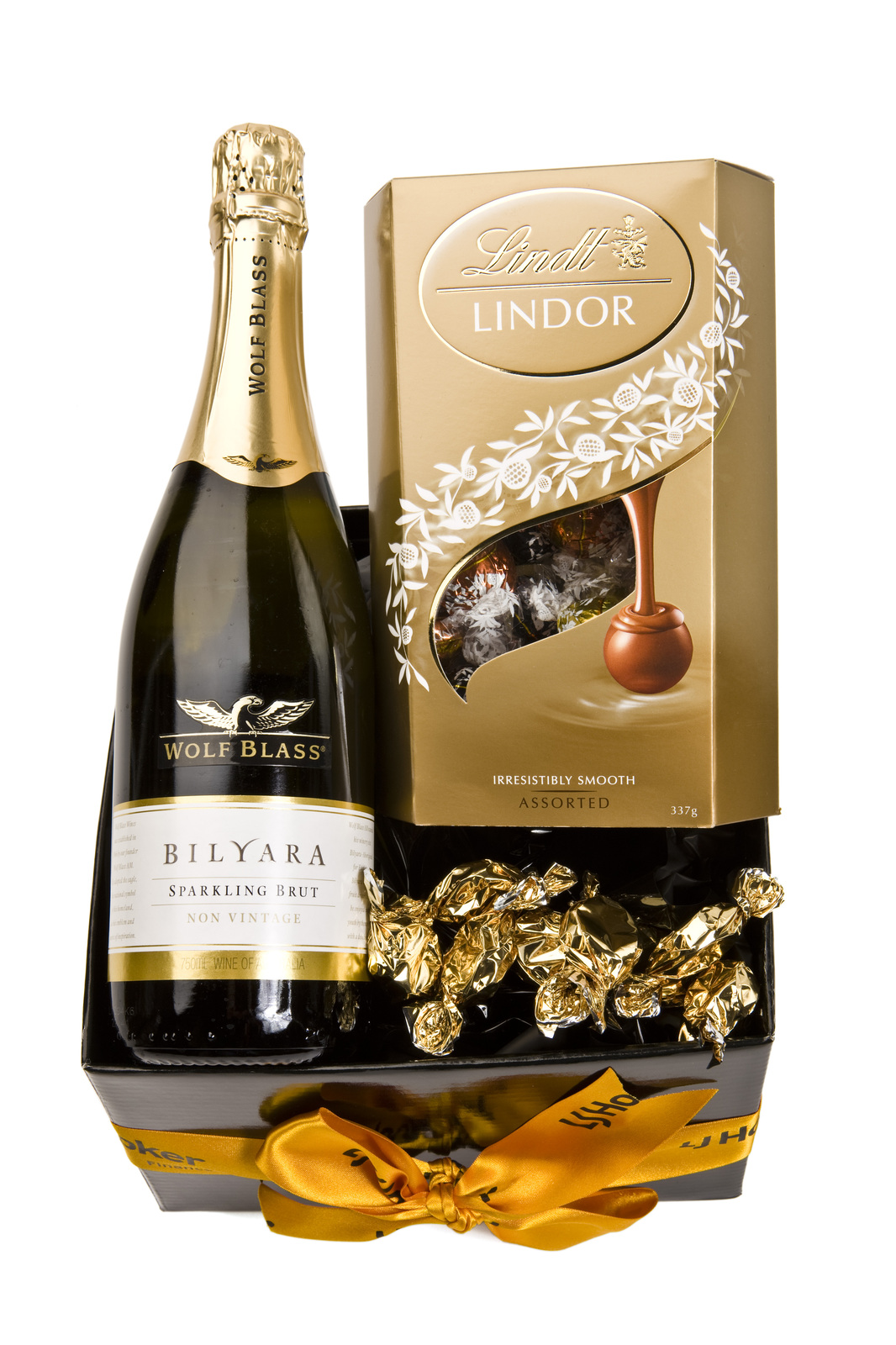Baby Gift Hamper Canberra : Lollypotz champagne and truffles